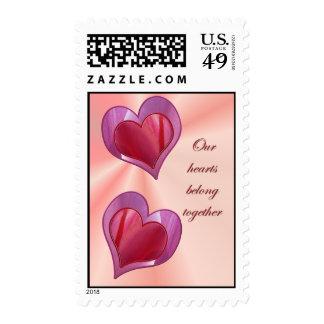 Tulip Petals Valentine Postage