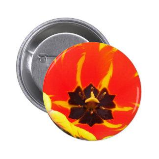 Tulip Pinback Buttons