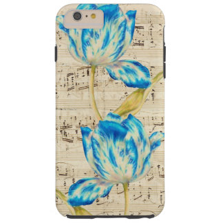Tulip Poetry Tough iPhone 6 Plus Case
