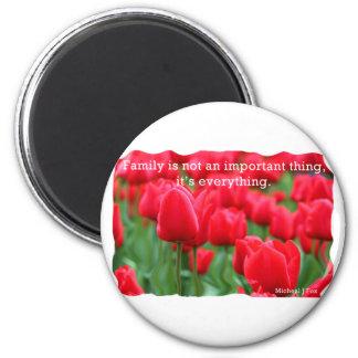 Tulip Power Fridge Magnets