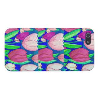 Tulip Print iPhone Case