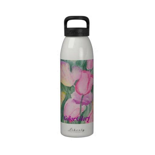 Tulip Profusion Water Bottle