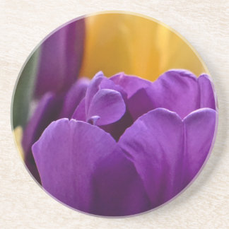Tulip Purple Coaster