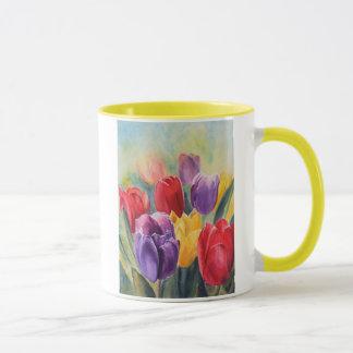 Tulip rainbow mug