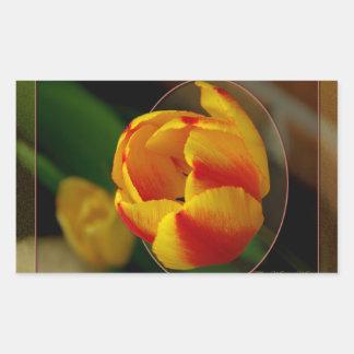Tulip Rectangular Sticker