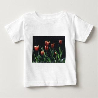Tulip Red  Flare Tee Shirt