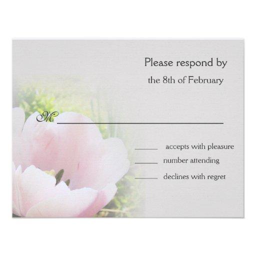 Tulip response card 2 invites