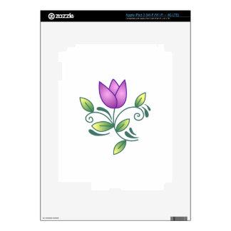 Tulip Seventeen iPad 3 Decals