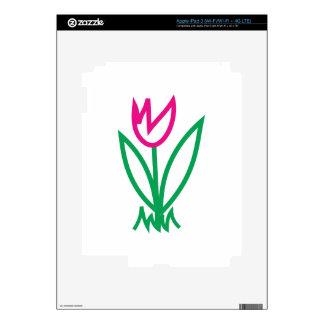Tulip Decals For iPad 3