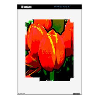 Tulip Skin Model: iPad 2 (Wi-Fi/Wi-Fi + 3G) iPad 2 Skins