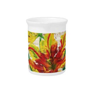 tulip songs beverage pitchers