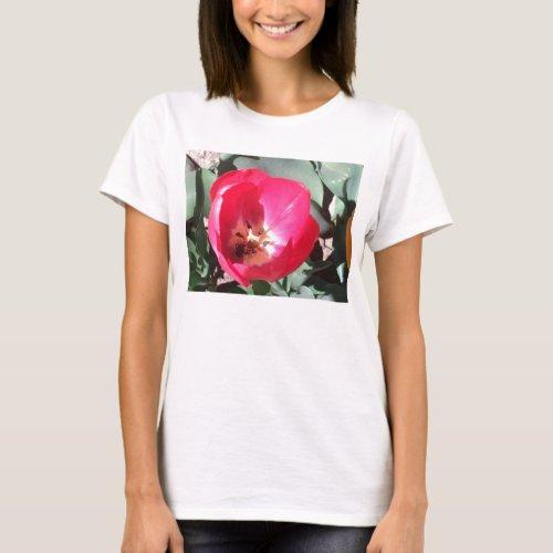 Tulip Spaghetti Strap Top Designed by Julia Hanna shirt