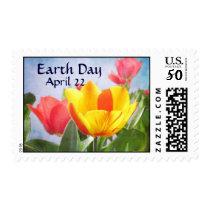 Tulip Spring Joy Earth Day Postage