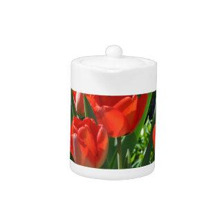 Tulip Summer Teapot