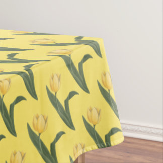 Tulip Tablecloth Festive Easter Flowers Tablecloth