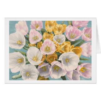 Tulip Tantrum greeting card
