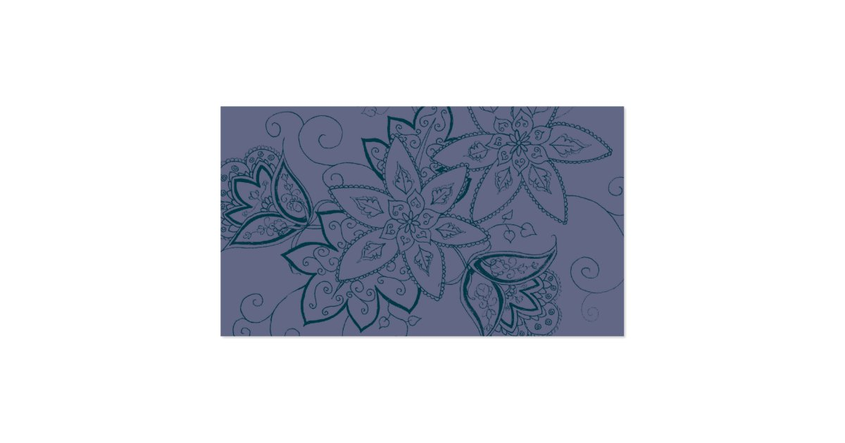 Tulip tattoo business cards dusk zazzle for Business card size tattoos
