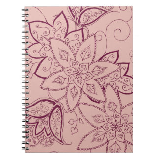 Tulip Tattoo Notebook (Rose)
