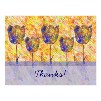 Tulip Thanks! Postcard