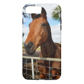 Tulip The Brown Bay Horse, iPhone 8 Plus/7 Plus Case
