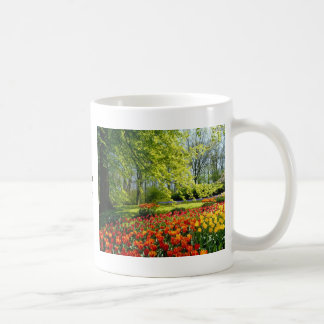 Tulip time, gardens at Keukenhof Coffee Mug