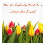 Tulip Time Invitation