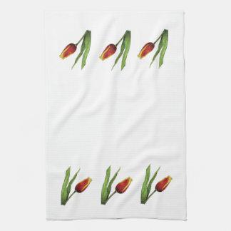 Tulip Towel - Border Design