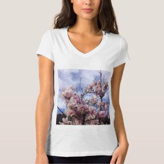 Tulip Tree Flowers. Magnolia soulangeana T-Shirt