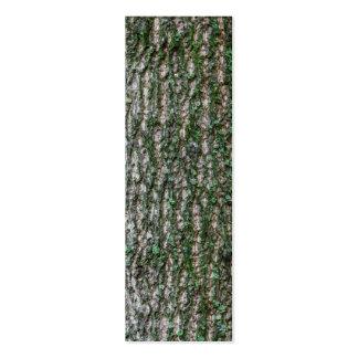 Tulip tree trunk mini business card