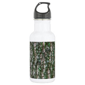Tulip tree trunk stainless steel water bottle