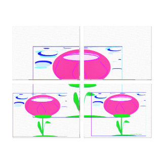 Tulip Trinity Gallery Wrapped Canvas