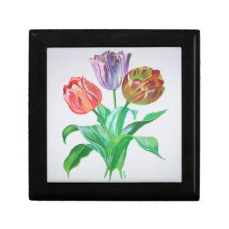 Tulip Trio Keepsake Box