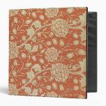 Tulip wallpaper design, 1875 3 ring binders