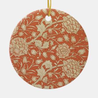 Tulip wallpaper design, 1875 ceramic ornament