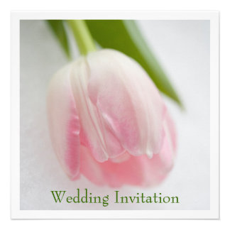 Tulip Wedding Invitation