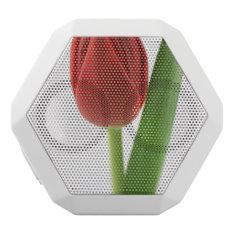 Tulip White Bluetooth Speaker at Zazzle
