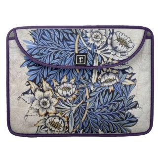 """Tulip & Willow"" by William Morris MacBook Pro Sleeves"