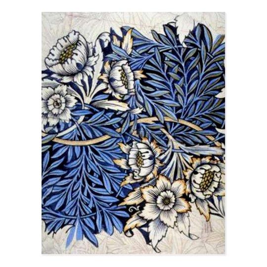 """Tulip & Willow"" by William Morris - Postcard"