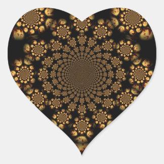 Tulip Wonderland Heart Sticker