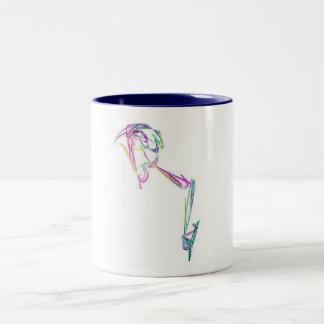 tulipa Two-Tone coffee mug