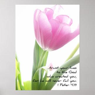 Tulipán - 1 4:19 de Peter Póster