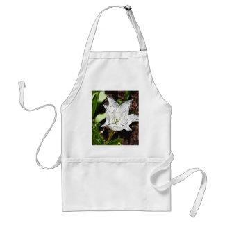 Tulipán blanco delantal