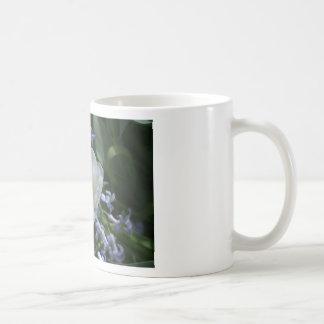 Tulipán blanco taza básica blanca