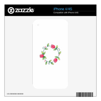 Tulipán catorce skins para eliPhone 4