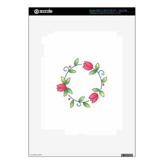 Tulipán catorce pegatina skin para iPad 3