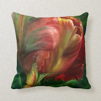 Tulipán-Colores de la almohada del diseñador del a