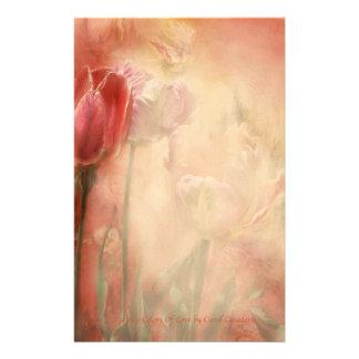 Tulipán-Colores de los efectos de escritorio del a Papelería