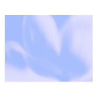 Tulipán de la MOD, suavemente azul-violeta-rosado, Tarjeta Postal