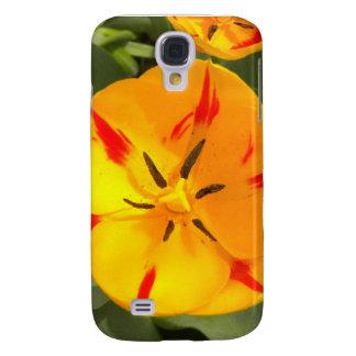 Tulipán dentro del caso del iPhone 3 Funda Samsung S4