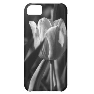 Tulipán en blanco y negro - caso del iPhone 6 Funda Para iPhone 5C